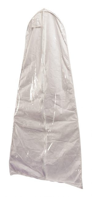 Bell Shaped Tyvek Wedding Gown Garment Bag