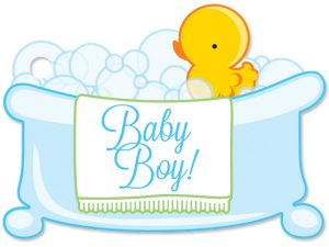 Baby Boy Bubbles Gift Card