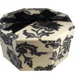Hat Box Medusa Black & White Pattern