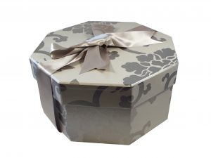 Endsleigh Silver Hat Box